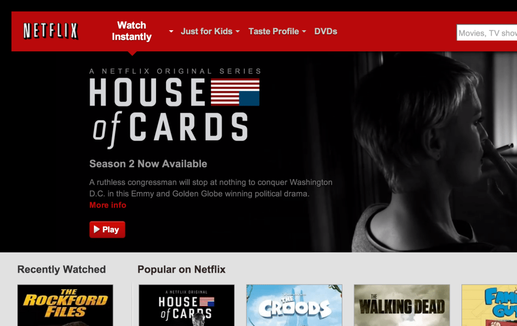 Netflix-website-homepage